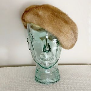 Vintage Mid century real fur hat from Eatons